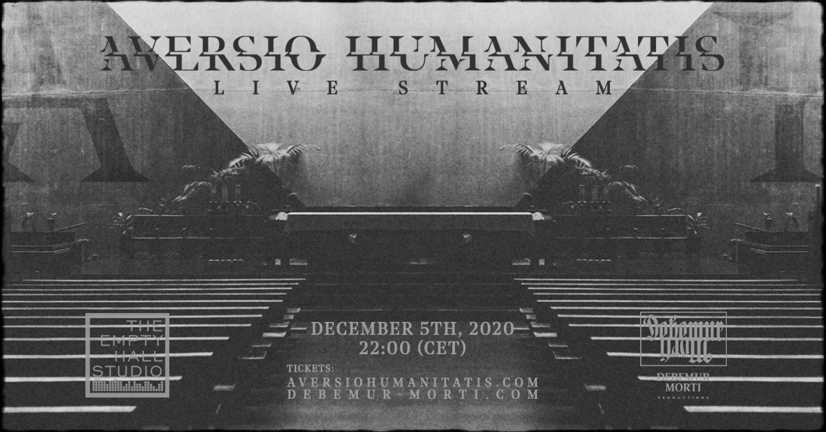 AVERSIO HUMANITATIS - Online gig on December 5th