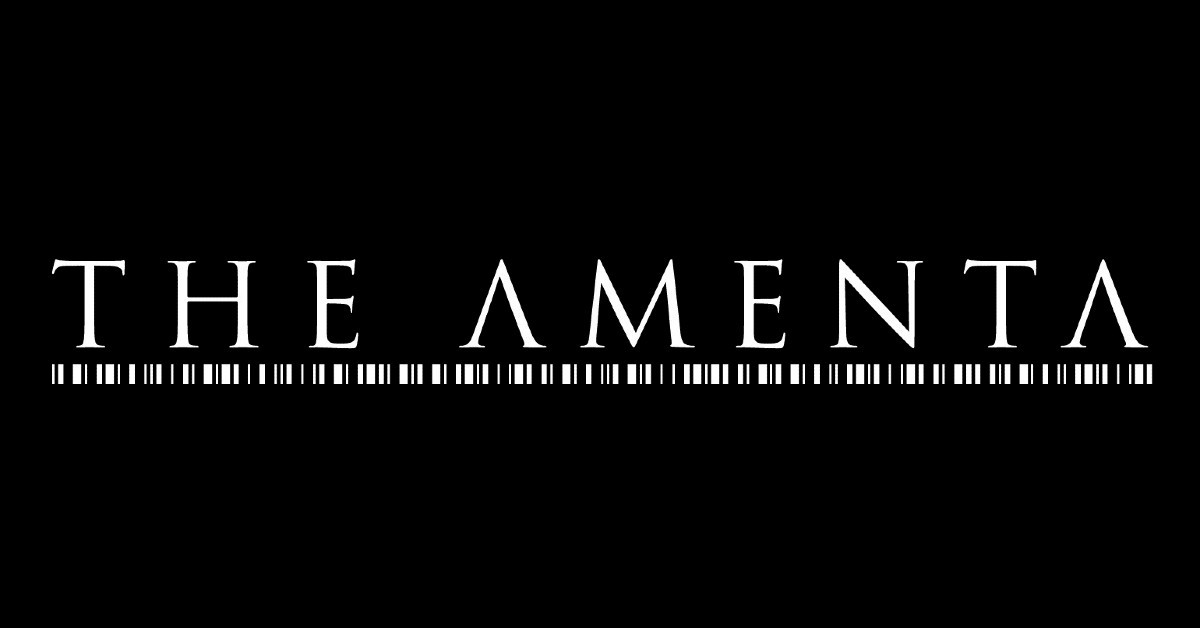 THE AMENTA sign with Debemur Morti Productions